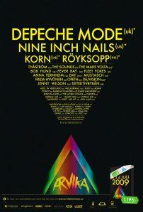 Arvikafestivalen affisch