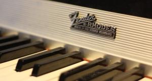 Fender Rhodes. Foto: David Fryxelius.