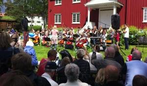 Nationaldagsfirande på Sågudden 2013. Foto: David Fryxelius.