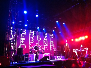 Alphaville på Arvika Hamnfest 2013. Foto: David Fryxelius.