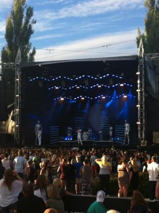 ANSIKTET på Arvika Hamnfest 2013. Foto: David Fryxelius.