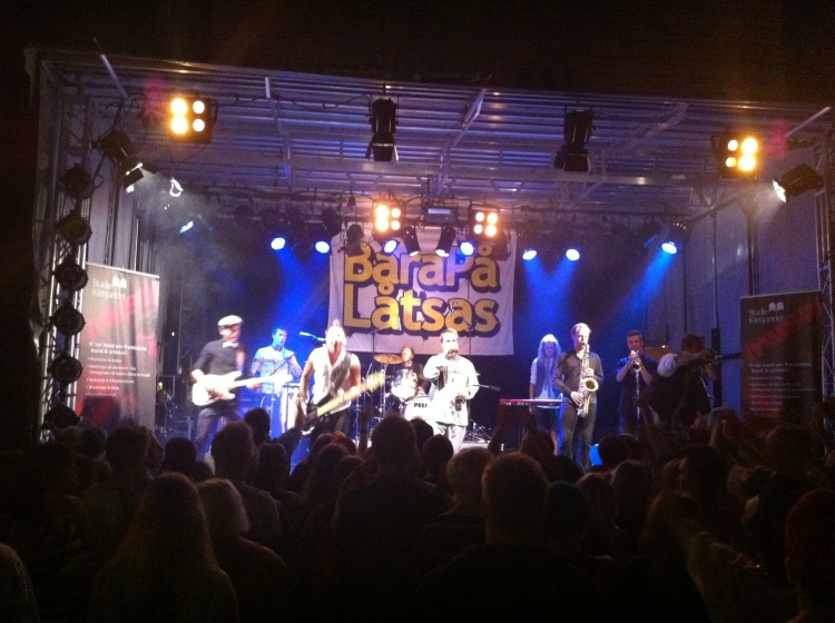 Bara På Låtsas på Arvika Hamnfest. Foto: David Fryxelius.