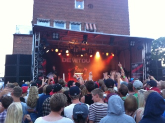 De Vet Du på Arvika Hamnfest. Foto: David Fryxelius.