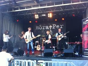 Môra-Per på Arvika Hamnfest. Foto: David Fryxelius.