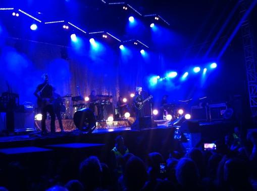Petra Marklund på Arvika Hamnfest 2013. Foto: David Fryxelius.