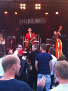 SPEEDJUNKIES på Arvika Hamnfest 2013. Foto: David Fryxelius.