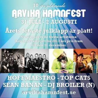 Arvika Hamnfest 2014. Foto: Arvika Hamnfest.