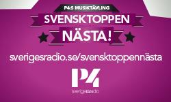 Svensktoppen nästa. Foto: Sveriges radio.