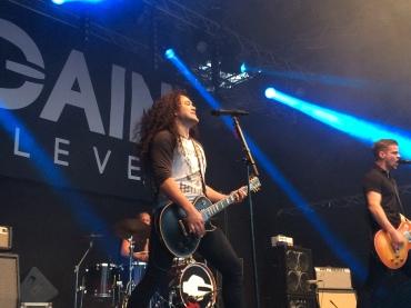 Gain Eleven på Arvika Stadsfest 2014. Foto: David Fryxelius.