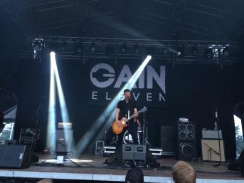 David Flognman i Gain Eleven på Arvika Stadsfest 2014. Foto: David Fryxelius.