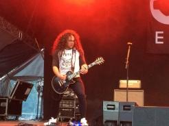 Vidar Solli i Gain Eleven på Arvika Stadsfest 2014. Foto: David Fryxelius.
