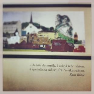 Bokbussen i Arvika. Foto: David Fryxelius.