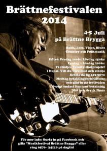 Musikfestival Brättne Brygga 2014
