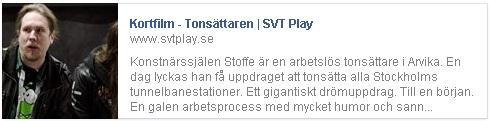 Tonsättaren - skärmdump från Facebook