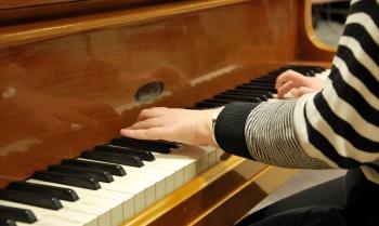 Solbergagymnasiets musikesteter. Foto: David Fryxelius.