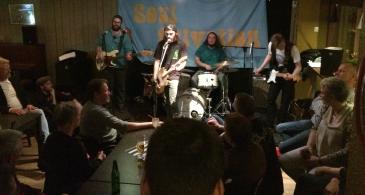 Soul Salvation på Wilmas Musik Pub. Foto: David Fryxelius.