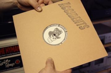 Specialutgåva av Accidents på Bootleg Booze Records. Foto: David Fryxelius.