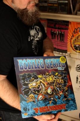 "Skivfodral av ""Bootleg Series Vol. 1"". Foto: David Fryxelius."