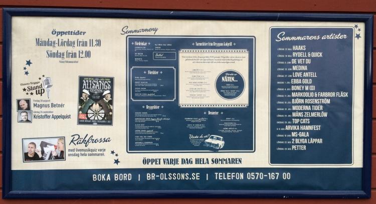 Hela programmet på Olssons brygga 2015