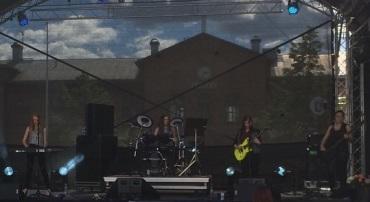 L.I.L.L. på Arvika stadsfest 2015. Foto: David Fryxelius.