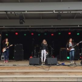 Incorporated på Rock Im Stadspark 2015. Foto: David Fryxelius.