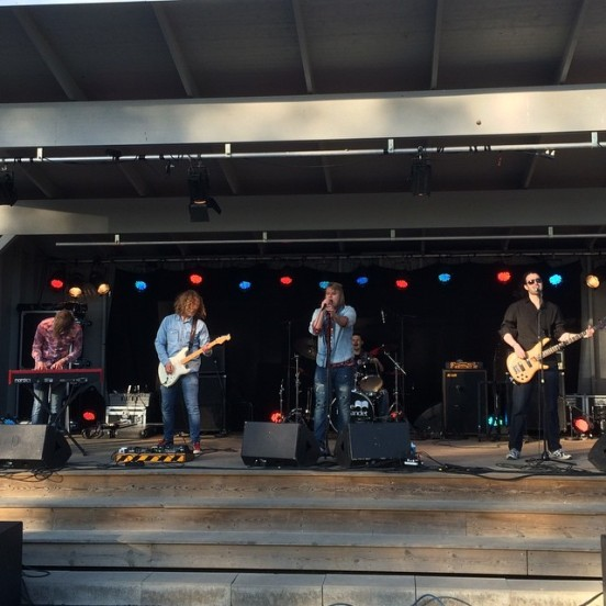 Maple Grove på Rock Im Stadspark 2015. Foto: David Fryxelius.