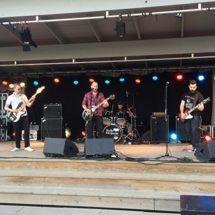 Mudstain på Rock Im Stadspark 2015. Foto: David Fryxelius.