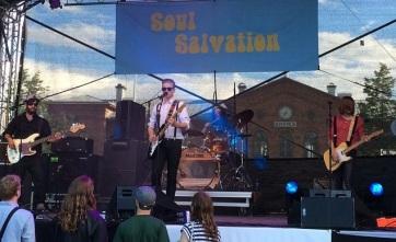 Soul Salvation på Arvika stadsfest 2015. Foto: David Fryxelius.