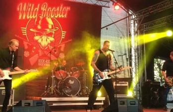 Wild Rooster på Arvika stadsfest 2015. Foto: David Fryxelius.