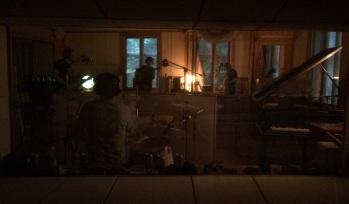 Överblicksbild genom kontrollrummets fönster. Foto: David Fryxelius.