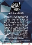 Affisch Arvika Hamnfest 2015.