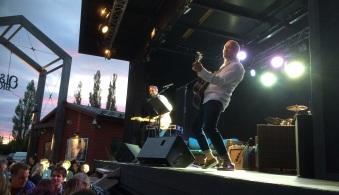 Allsångskryssning med Johan Östling och Björn Starrin på Olssons Brygga. Foto: David Fryxelius.