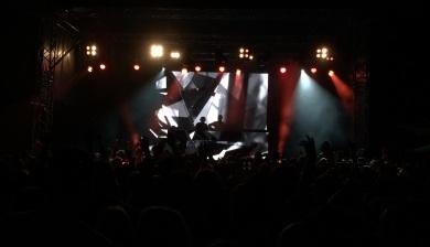 Broiler på Arvika Hamnfest 2015. Foto: David Fryxelius.