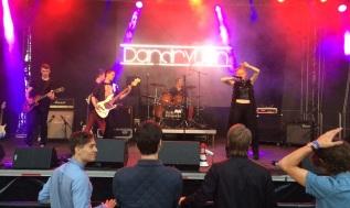 Dandrylion på Arvika Hamnfest 2015. Foto: David Fryxelius.