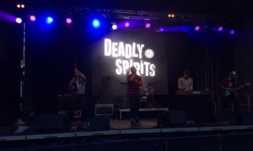 Deadly Spirits på Arvika Hamnfest 2015. Foto: David Fryxelius.
