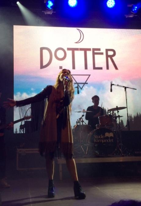 Dotter på Arvika Hamnfest 2015. Foto: David Fryxelius.