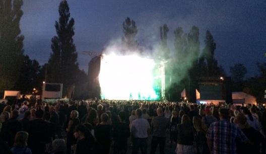 Maskinen på Arvika Hamnfest 2015. Foto: David Fryxelius.
