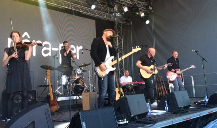 môra-per på Arvika Hamnfest 2015. Foto: David Fryxelius.