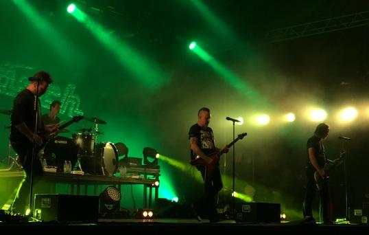 Mustasch på Arvika Hamnfest 2015. Foto: David Fryxelius.