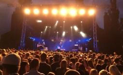 Norlie & KKV på Arvika Hamnfest 2015. Foto: David Fryxelius.