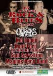 Affisch Rock & blues för MS 2015.