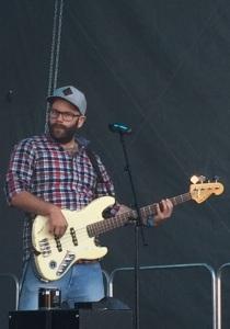 Jens Nilsson i Soul Salvation på Arvika Hamnfest 2015. Foto: David Fryxelius.