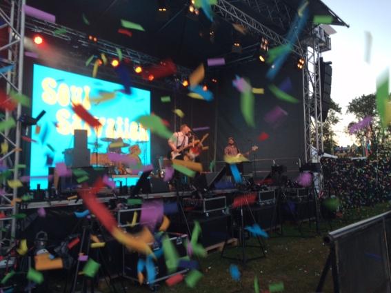 Soul Salvation på Arvika Hamnfest 2015. Foto: David Fryxelius.