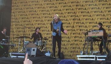 Thomas Stenström på Arvika Hamnfest 2015. Foto: David Fryxelius.