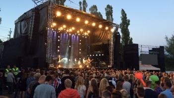 Tomas Ledin på Arvika Hamnfest 2015. Foto: David Fryxelius.
