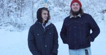 Pettson och Paul utanför Silence studio. Foto: David Fryxelius.