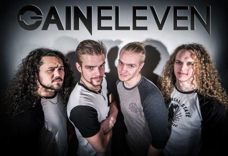 Vidar Solli, David Flognman, Hannes Liljedahl och Martin Andersson. Foto: Gain Eleven.