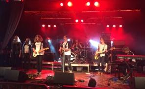 Erik Nilsson band. Foto: David Fryxelius.