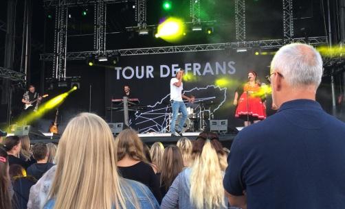 Frans på Arvika Hamnfest 2016. Foto: David Fryxelius.