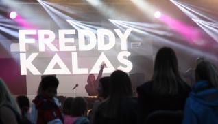 Freddy Kalas på Arvika Hamnfest 2016. Foto: Anna-Karin Fryxelius.